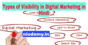 Types of Visibility in Digital Marketing in Hindi